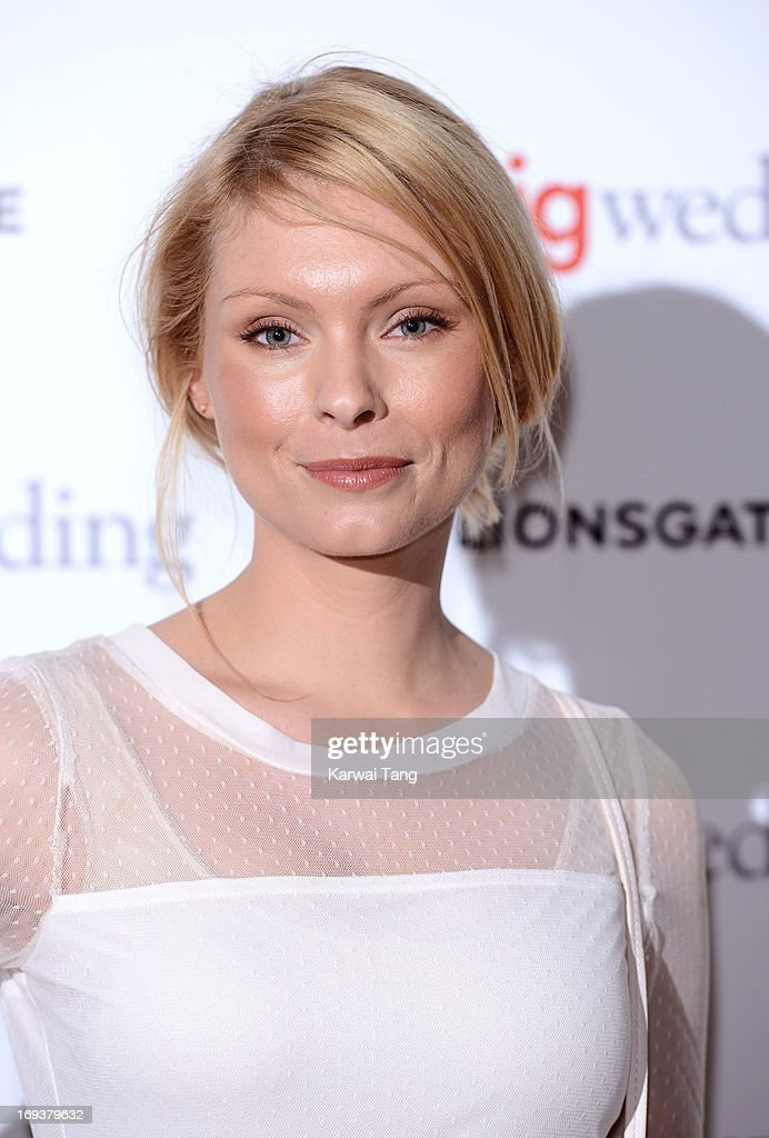MyAnna Buring attends a special screening of 'The Big Wedding' at May Fair Hotel on May 23, 2013 in London, England.