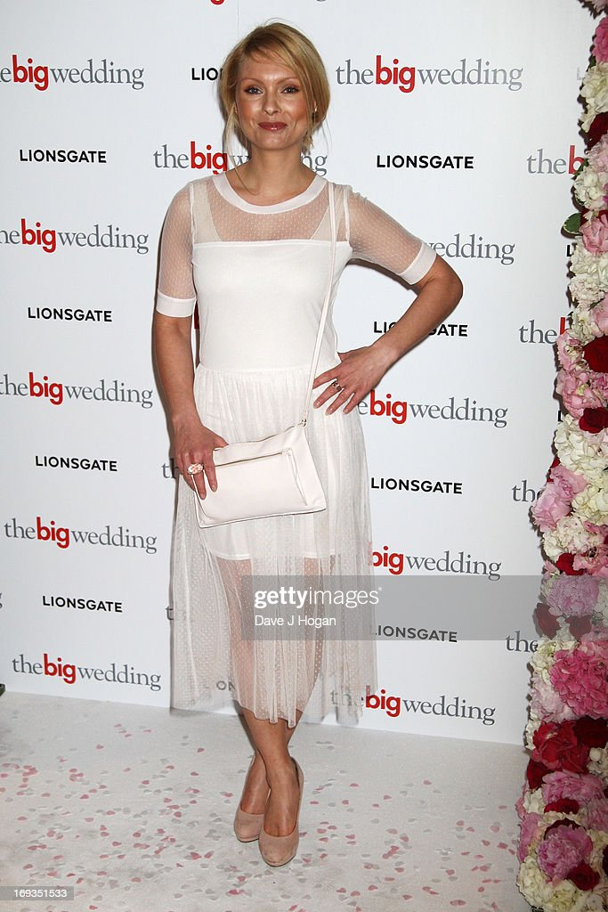 <a gi-track='captionPersonalityLinkClicked' href=/galleries/search?phrase=MyAnna+Buring&family=editorial&specificpeople=810502 ng-click='$event.stopPropagation()'>MyAnna Buring</a> attends a special screening of 'The Big Wedding' at The Mayfair Hotel on May 23, 2013 in London, England.