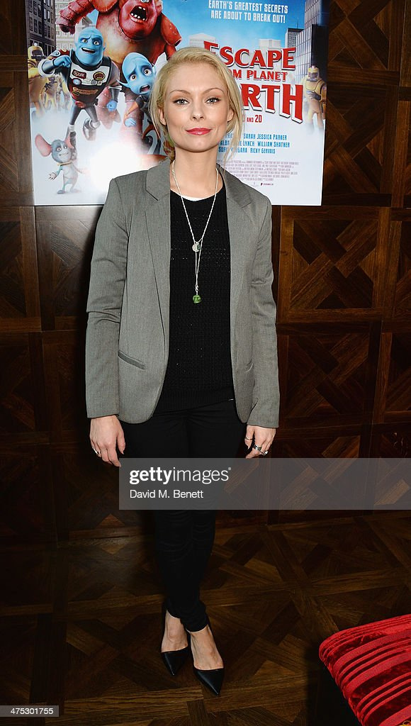 Myanna Buring attends a VIP screening of Harvey Weinstein's 'Escape From Planet Earth' at The W Hotel on February 27, 2014 in London, England.