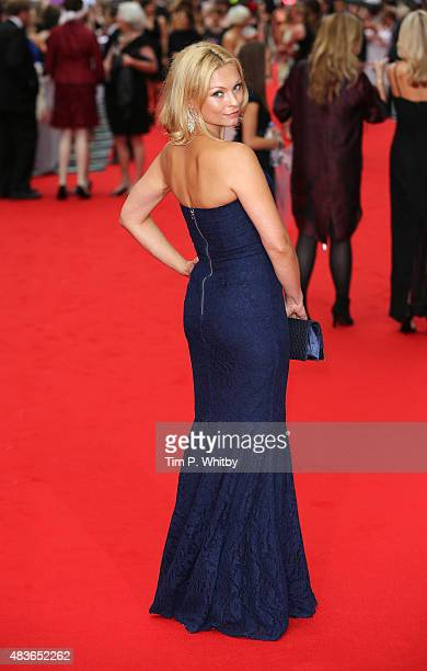 Myanna Buring attends as BAFTA celebrate 'Downton Abbey' at Richmond Theatre on August 11 2015 in Richmond England