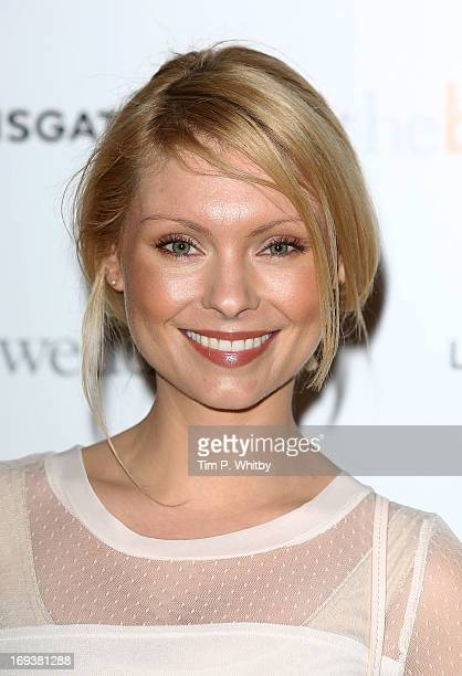 Myanna Buring attends Special screening of 'The Big Wedding' at May Fair Hotel on May 23 2013 in London England