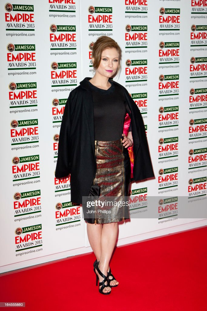 MyAnna Buring attends the 18th Jameson Empire Film Awards at Grosvenor House, on March 24, 2013 in London, England.