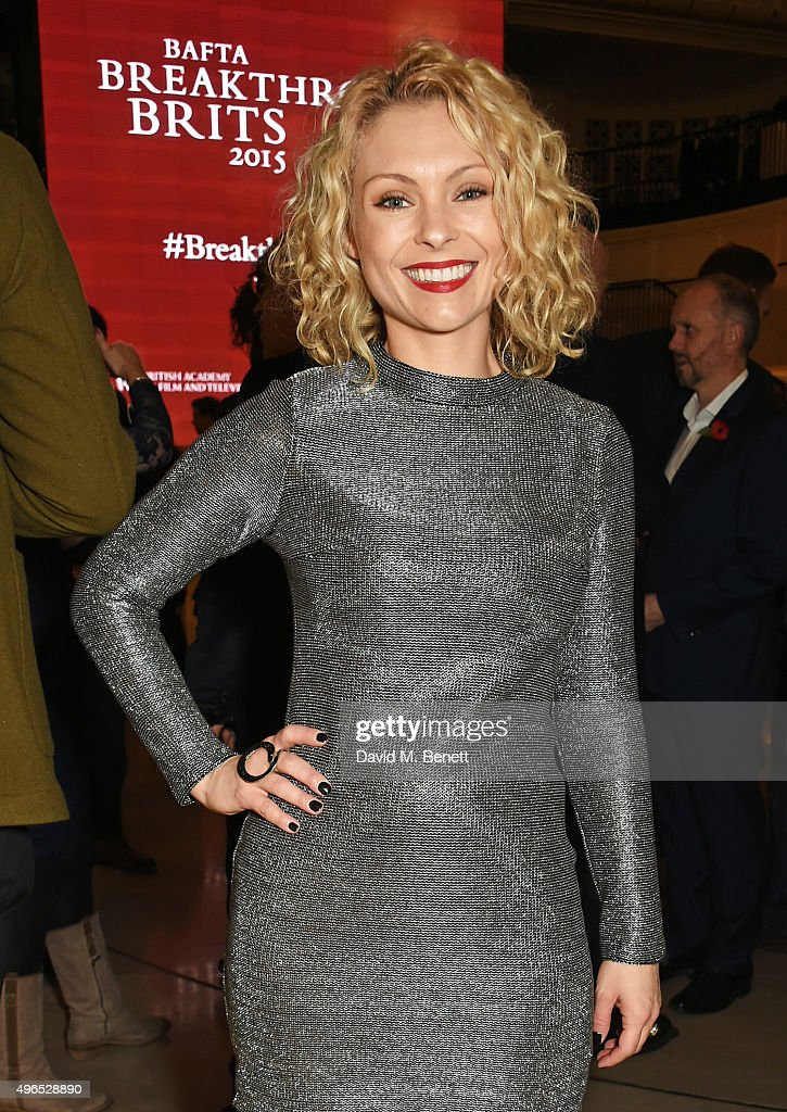 <a gi-track='captionPersonalityLinkClicked' href=/galleries/search?phrase=MyAnna+Buring&family=editorial&specificpeople=810502 ng-click='$event.stopPropagation()'>MyAnna Buring</a> attends the BAFTA Breakthrough Brits reception in partnership with Burberry at 121 Regent Street, on November 10, 2015 in London, England.