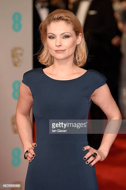 MyAnna Buring attends the EE British Academy Film Awards at The Royal Opera House on February 8 2015 in London England