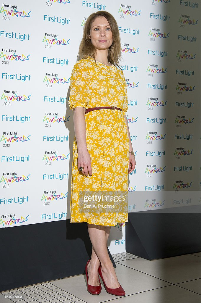 Myanna Buring attends the First Light Awards at Odeon Leicester Square on March 19, 2013 in London, England.