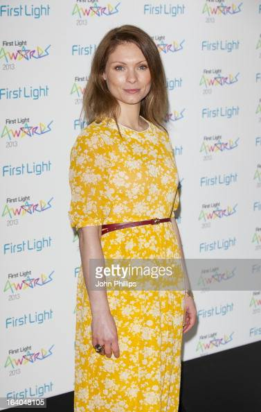 MyAnna Buring attends the First Light Awards at Odeon Leicester Square on March 19 2013 in London England