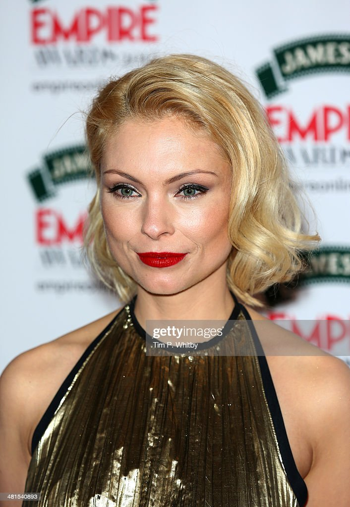 MyAnna Buring attends the Jameson Empire Awards 2014 at the Grosvenor House Hotel on March 30, 2014 in London, England. Regarded as a relaxed end to the awards show season, the Jameson Empire Awards celebrate the film industry's success stories of the year with winners being voted for entirely by members of the public. Visit empireonline.com/awards2014 for more information.