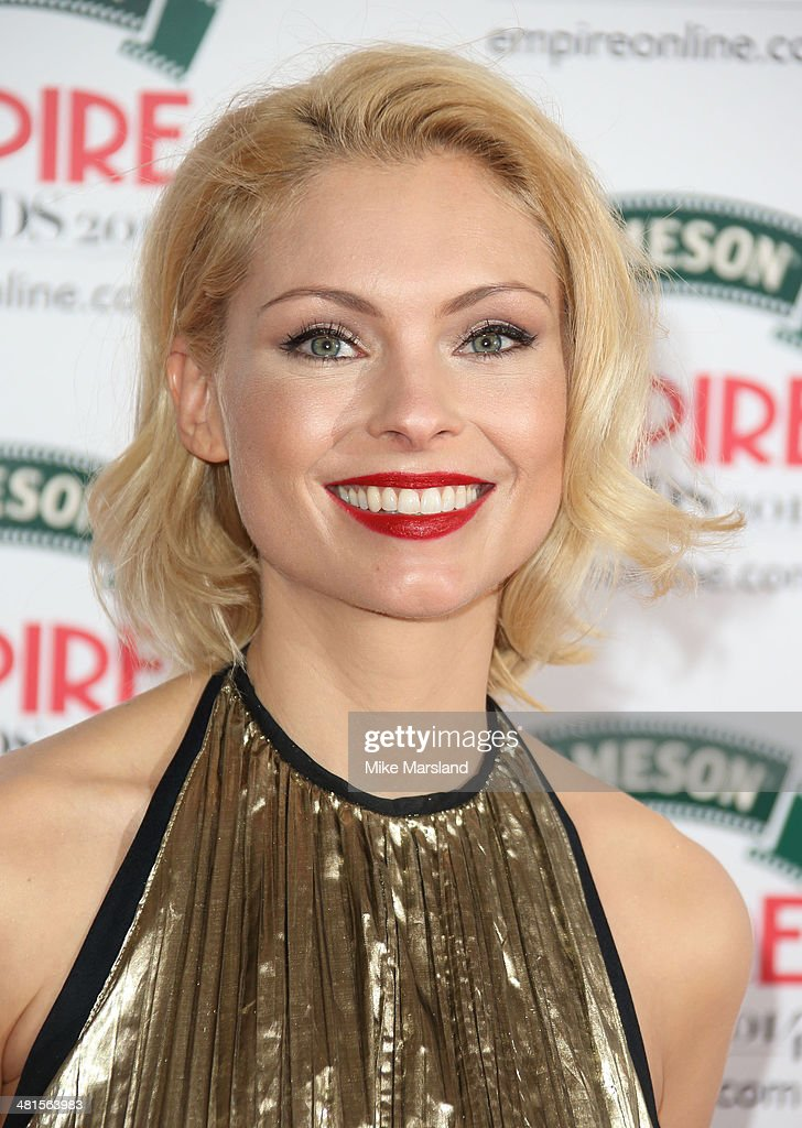 MyAnna Buring attends the Jameson Empire Film Awards at Grosvenor House, on March 30, 2014 in London, England.