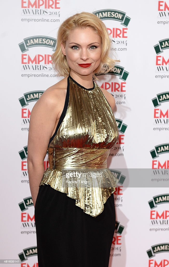 MyAnna Buring attends the Jameson Empire Film Awards at Grosvenor House on March 30, 2014 in London, England.