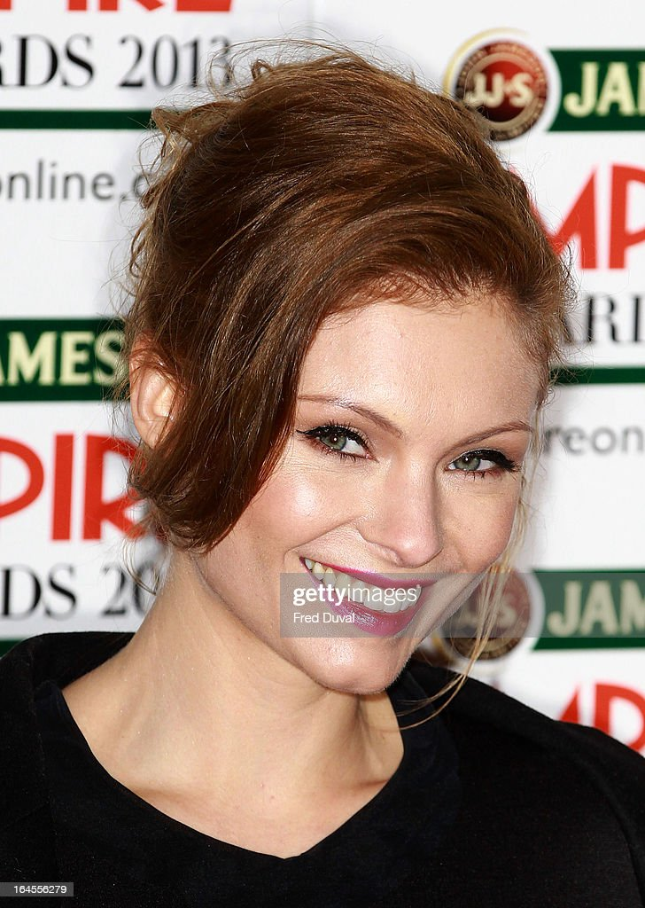 MyAnna Buring attends the Jameson Empire Film Awards at The Grosvenor House Hotel on March 24, 2013 in London, England.