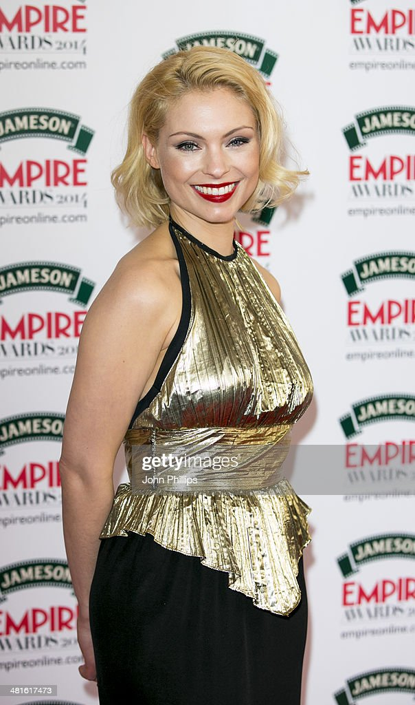 <a gi-track='captionPersonalityLinkClicked' href=/galleries/search?phrase=MyAnna+Buring&family=editorial&specificpeople=810502 ng-click='$event.stopPropagation()'>MyAnna Buring</a> attends the Jameson Empire Film Awards at The Grosvenor House Hotel on March 30, 2014 in London, England.