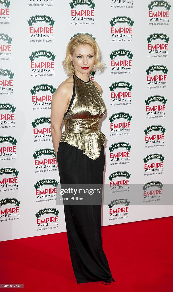 MyAnna Buring attends the Jameson Empire Film Awards at The Grosvenor House Hotel on March 30, 2014 in London, England.