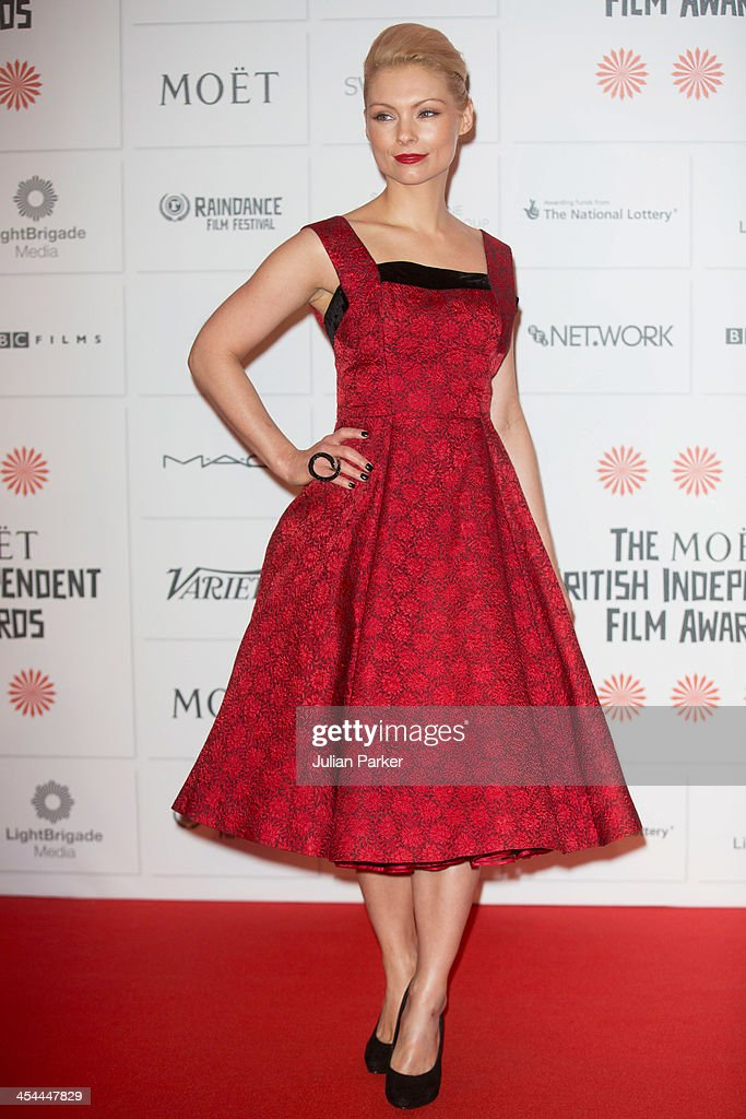 MyAnna Buring attends the Moet British Independent Film awards at Old Billingsgate Market on December 8, 2013 in London, England.