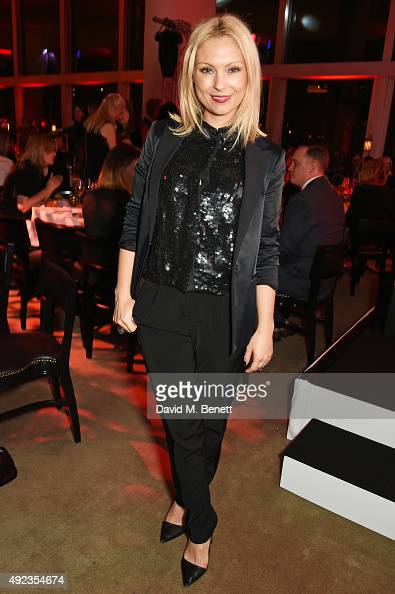MyAnna Buring attends the Red Women of the Year awards at Skylon Grill Royal Festival Hall on October 12 2015 in London England