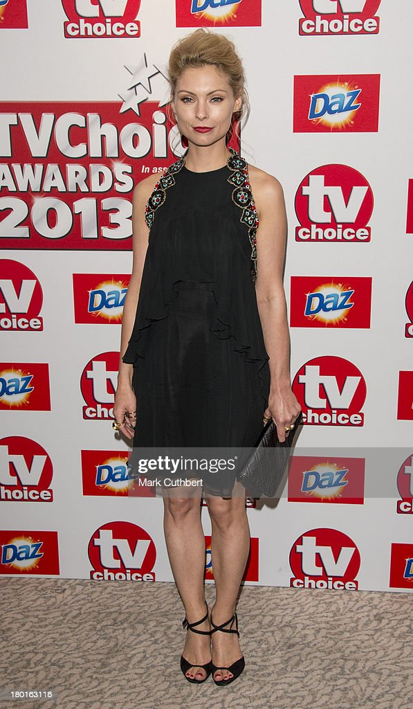 Myanna Buring attends the TV Choice Awards 2013 at The Dorchester on September 9, 2013 in London, England.