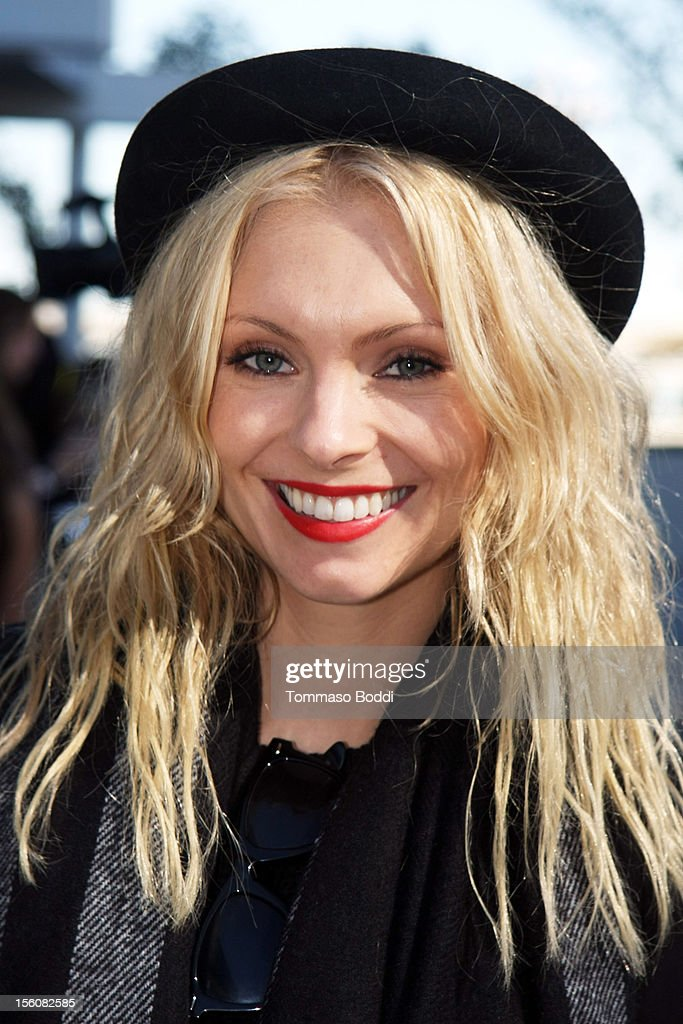 MyAnna Buring attends the Twilight fan camp breakfast at L.A. LIVE on November 11, 2012 in Los Angeles, California.