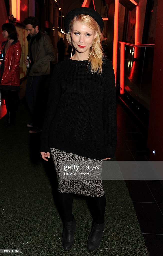 MyAnna Buring attends the UK Premiere of 'Sightseers' in association with Stella Artois at the London Transport Museum on November 26, 2012 in London, England.