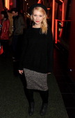 MyAnna Buring attends the UK Premiere of 'Sightseers' in association with Stella Artois at the London Transport Museum on November 26 2012 in London...