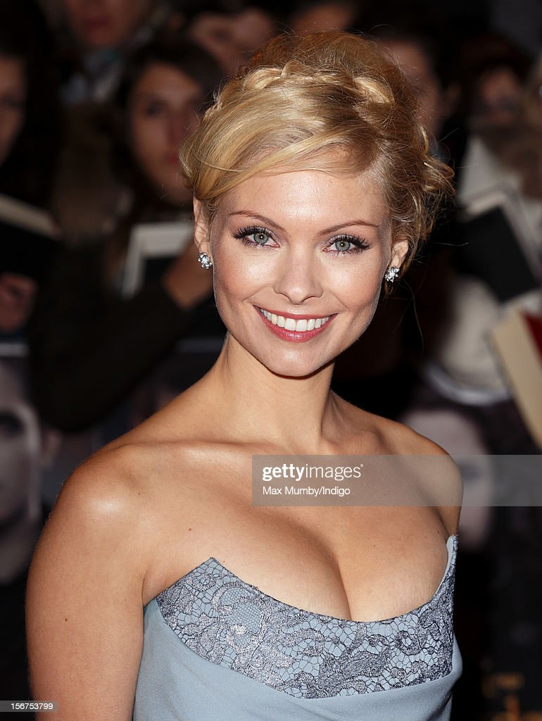 MyAnna Buring attends the UK Premiere of 'The Twilight Saga: Breaking Dawn - Part 2' at Odeon Leicester Square on November 14, 2012 in London, England.