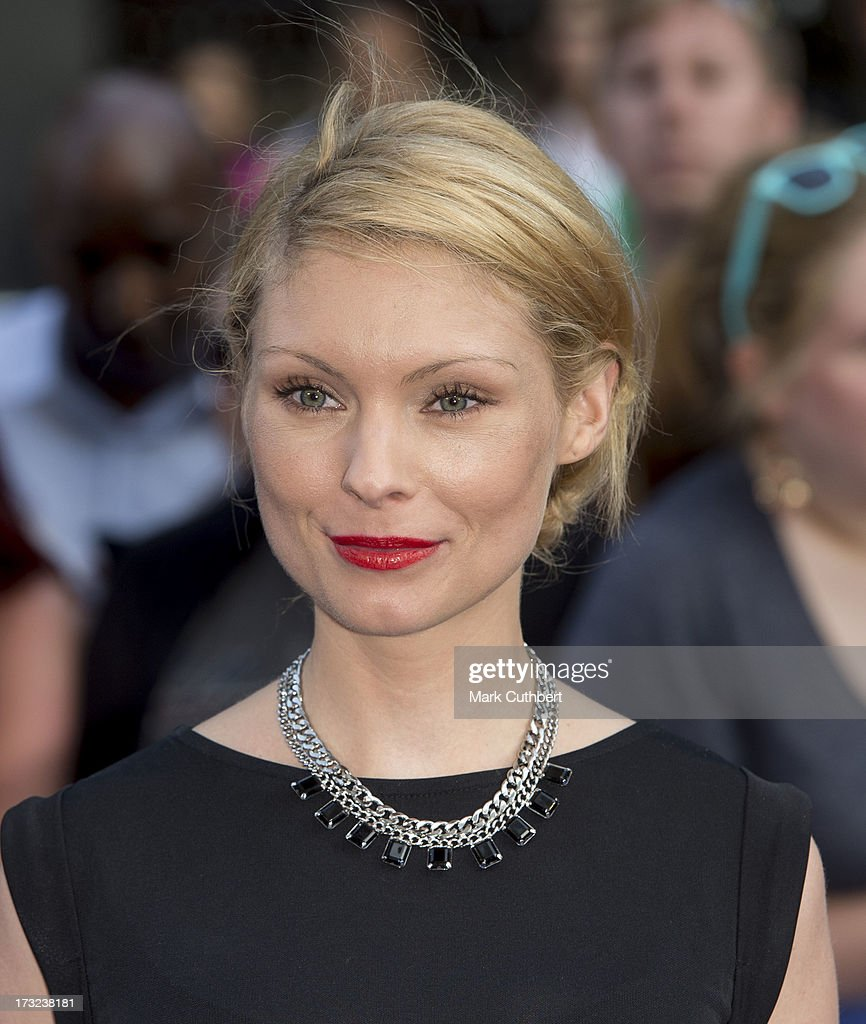 Myanna Buring attends the World Premiere of 'The World's End' at Empire Leicester Square on July 10, 2013 in London, England.