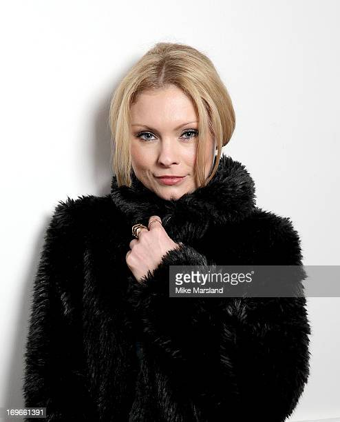 MyAnna Buring poses for Stella/Esquire Portrait Studio at Somerset House on May 29 2013 in London England