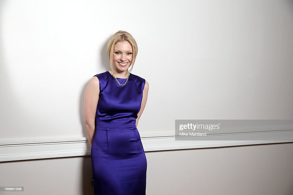 MyAnna Buring poses for Stella/Esquire Portrait Studio at Somerset House on May 29, 2013 in London, England.