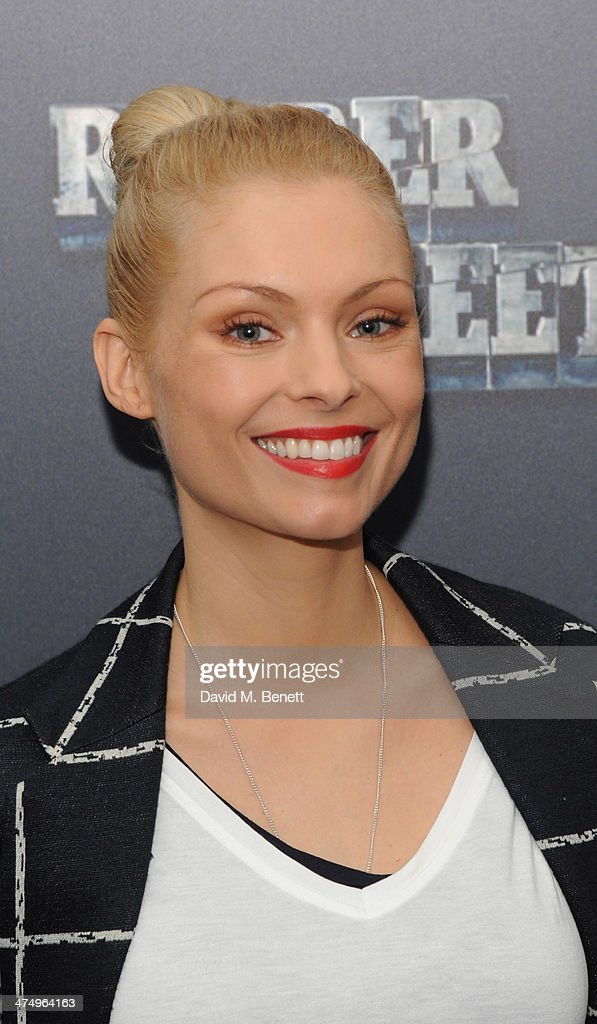 MyAnna Buring poses for the launch of drama 'Ripper Street' on Amazon Prime Instant Video, on February 26, 2014 in London, England.