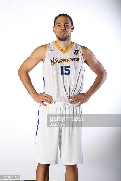 Mychel Thompson of the Santa Cruz Warriors pose for a portrait on November 6 2013 at Kaiser Permanente Arena in Santa Cruz California NOTE TO USER...
