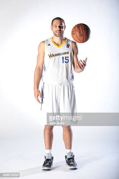 Mychel Thompson of the Santa Cruz Warriors poses for media day photos on November 6 2014 at Kaiser Permanente Arena in Santa Cruz California NOTE TO...