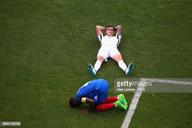 Myer Bevan of New Zealandreacts after missing a goalscoring chance during the FIFA U20 World Cup Korea Republic 2017 group E match between New...
