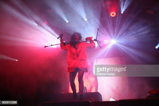 Mykki Blanco performs at Body Soul Festival at Ballinlough Castle on June 25 2017 in Co Westmeath Ireland