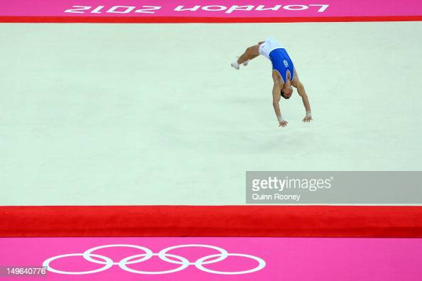 Floor gymnastics stock photos and pictures getty images for Floor gymnastics