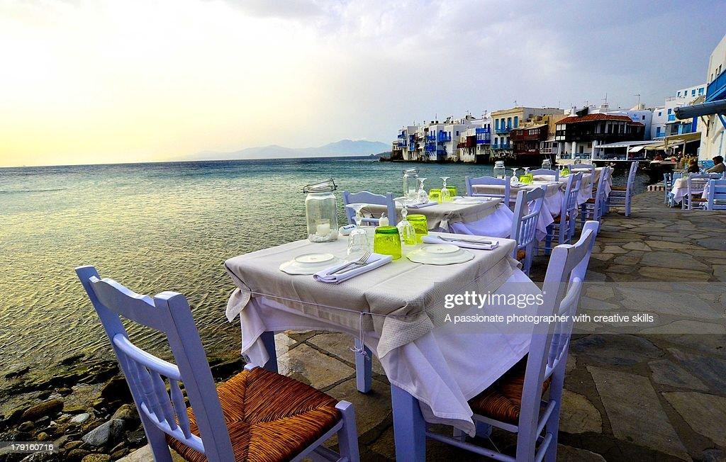 Mykonos at Sea