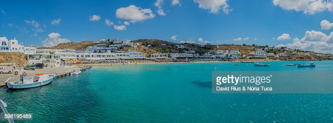 Mykonos coast