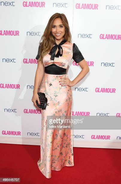 Myleen Klass attends the Glamour Women of the Year Awards at Berkeley Square Gardens on June 3 2014 in London England