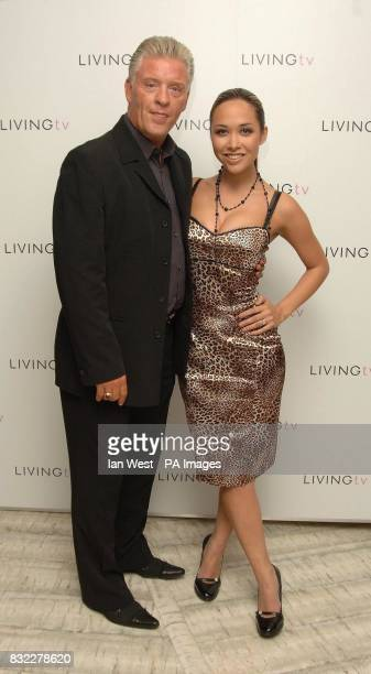 Myleene Klass and Derek Acorah at the Living TV Autumn/Winter 2006 programme launch held at the Nobu Restaurant in London
