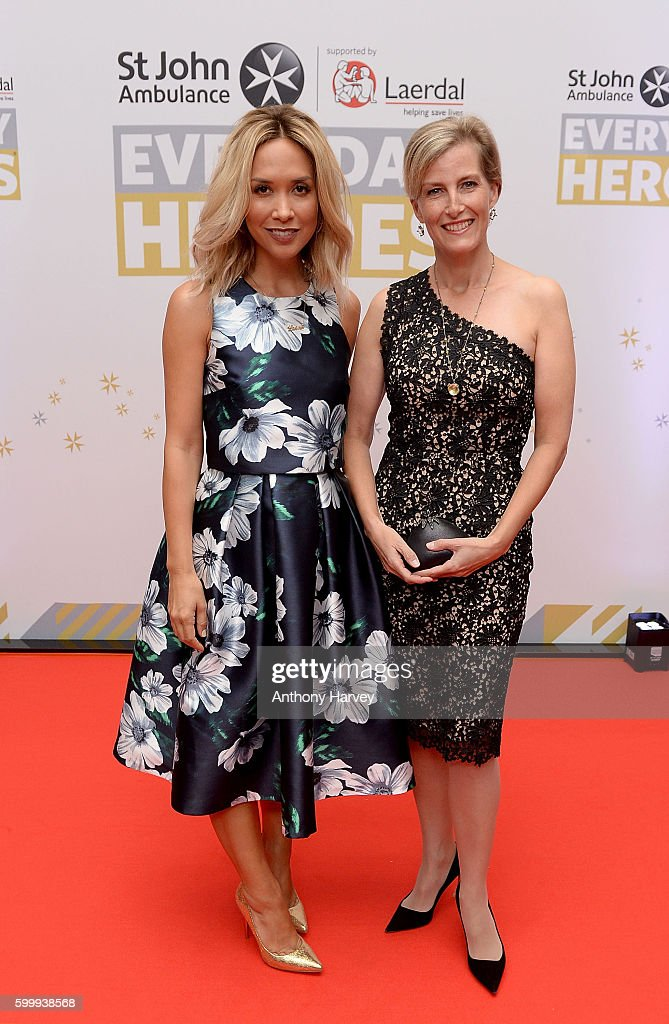 myleene-klass-and-sophie-countess-of-wessex-attend-the-st-john-a-picture-id599938568