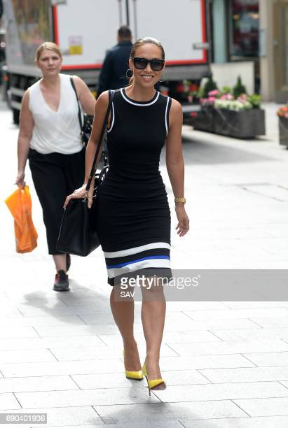 Myleene Klass arrives at Global House on May 31 2017 in London England