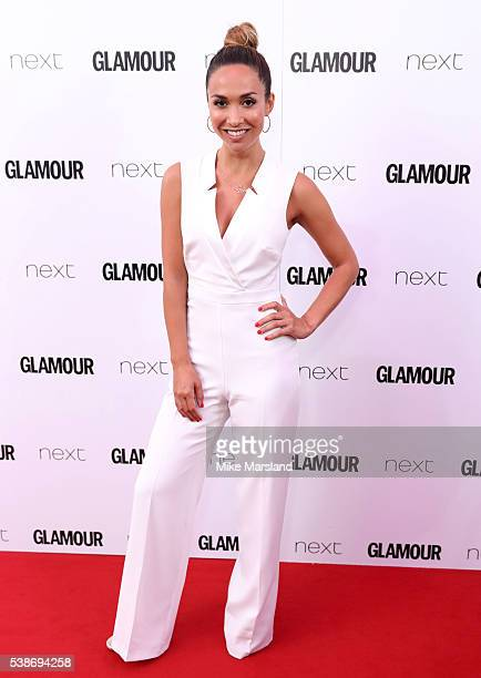 Myleene Klass arrives for the Glamour Women Of The Year Awards on June 7 2016 in London United Kingdom