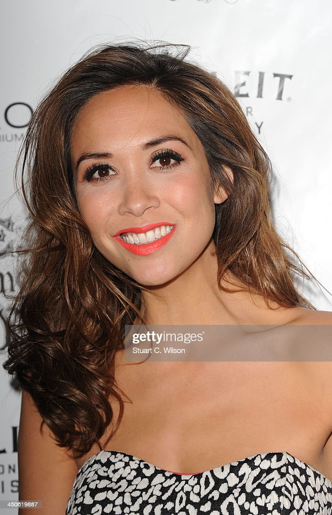 <a gi-track='captionPersonalityLinkClicked' href=/galleries/search?phrase=Myleene+Klass&family=editorial&specificpeople=201597 ng-click='$event.stopPropagation()'>Myleene Klass</a> arrives for the 'Steam and Rye' Restaurant launch party on November 19, 2013 in London, England.