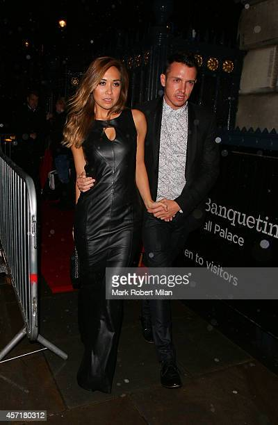 Myleene Klass at the Attitude Magazine awards party on October 13 2014 in London England