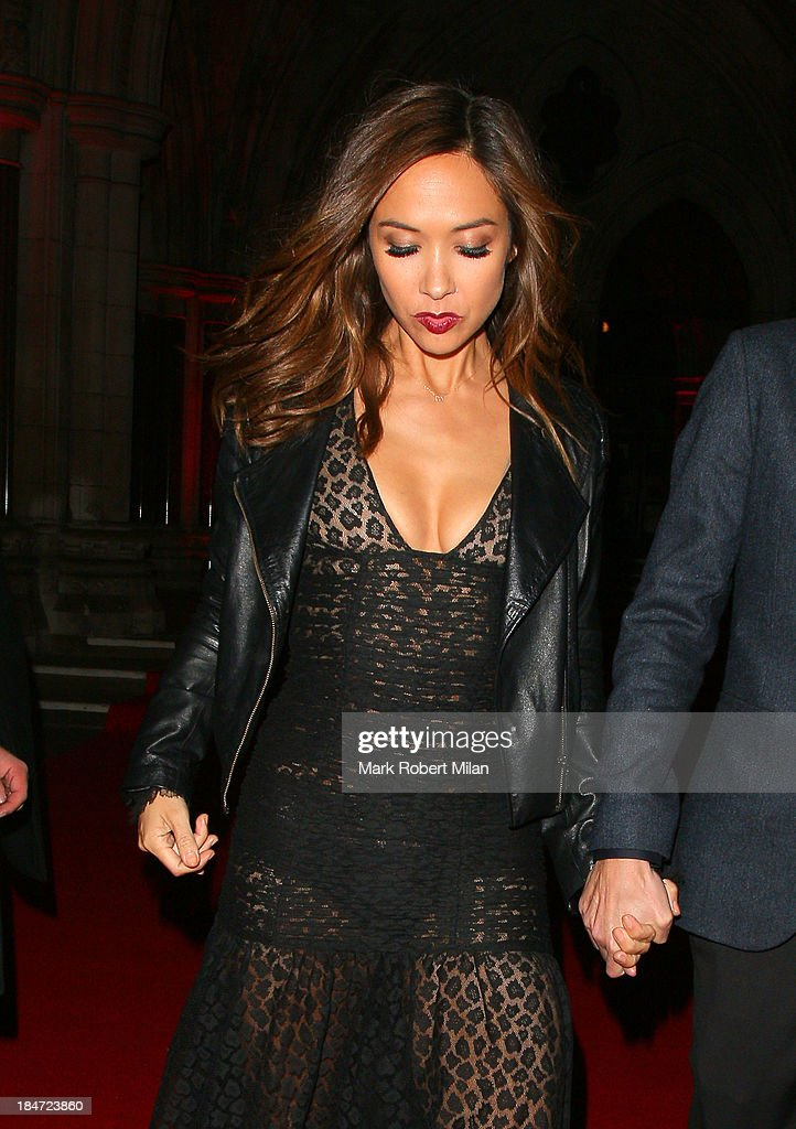 <a gi-track='captionPersonalityLinkClicked' href=/galleries/search?phrase=Myleene+Klass&family=editorial&specificpeople=201597 ng-click='$event.stopPropagation()'>Myleene Klass</a> attending the Attitude Magazine Awards on October 15, 2013 in London, England.