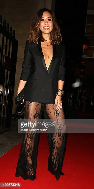 Myleene Klass attending the Cosmopolitan awards on December 2 2015 in London England