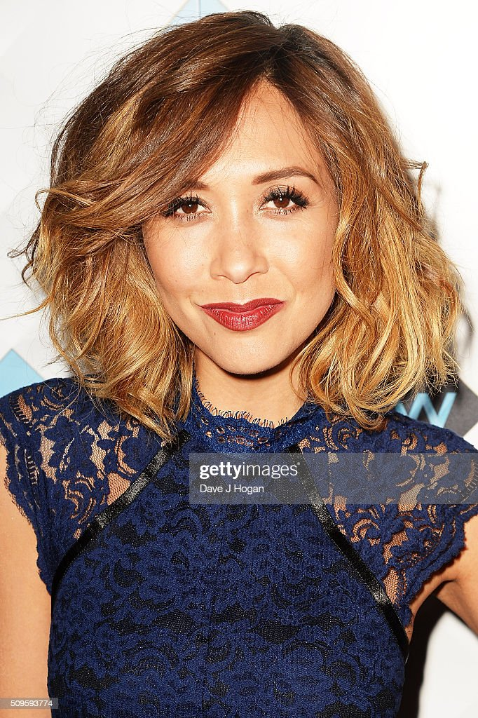 <a gi-track='captionPersonalityLinkClicked' href=/galleries/search?phrase=Myleene+Klass&family=editorial&specificpeople=201597 ng-click='$event.stopPropagation()'>Myleene Klass</a> attends a celebration of the new TV channel 'W,' launching on Monday 15th February, at Union Street Cafe on February 11, 2016 in London, England.