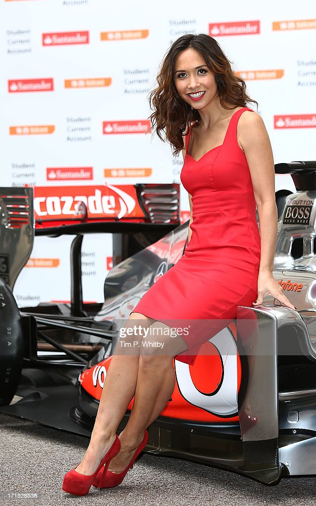 Myleene Klass attends a photocall to launch Santander's 16 - 25 Railcard at British Medical Association on June 26, 2013 in London, England.
