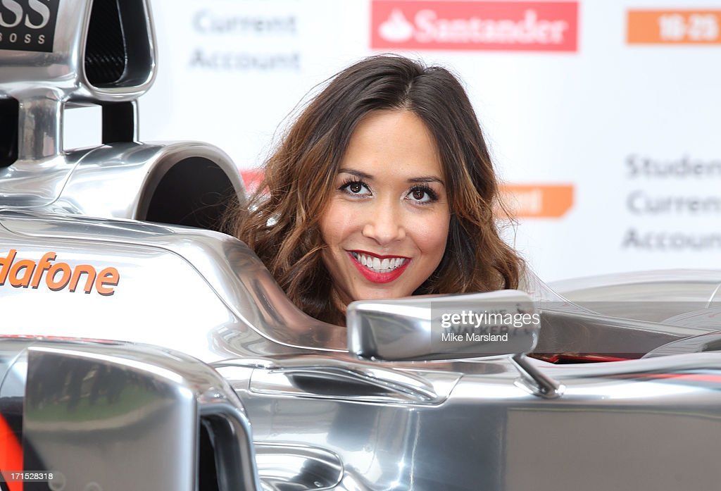 <a gi-track='captionPersonalityLinkClicked' href=/galleries/search?phrase=Myleene+Klass&family=editorial&specificpeople=201597 ng-click='$event.stopPropagation()'>Myleene Klass</a> attends a photocall to launch Santander's 16-25 Railcard at British Medical Association on June 26, 2013 in London, England.