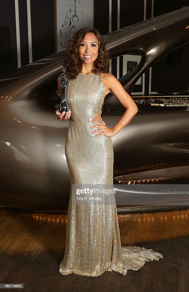 Myleene Klass attends a photocall to launch the 2013 Classic Brit Awards at Home House on September 9, 2013 in London, England. The Classical Brits takes place on October 2, 2013 and is presented by Klass for the sixth year running.