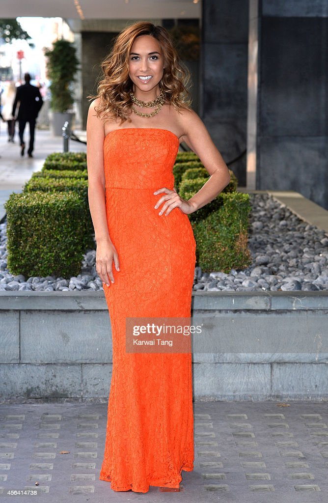 <a gi-track='captionPersonalityLinkClicked' href=/galleries/search?phrase=Myleene+Klass&family=editorial&specificpeople=201597 ng-click='$event.stopPropagation()'>Myleene Klass</a> attends a photocall to launch the latest <a gi-track='captionPersonalityLinkClicked' href=/galleries/search?phrase=Myleene+Klass&family=editorial&specificpeople=201597 ng-click='$event.stopPropagation()'>Myleene Klass</a> for Littlewoods collection at Sanderson Hotel on September 30, 2014 in London, England.