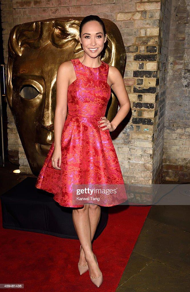 Myleene Klass attends the BAFTA Academy Children's Awards at the Roundhouse on November 23 2014 in London England