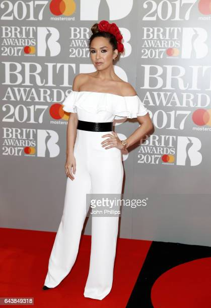 Myleene Klass attends The BRIT Awards 2017 at The O2 Arena on February 22 2017 in London England